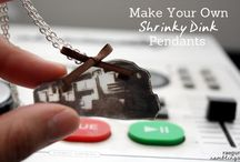 Shrink art / Ideas, techniques and tutorials for shrink art and shrinky dinks