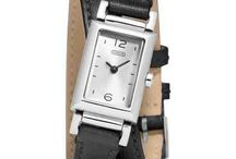 Coach madison stainless steel wrap watch