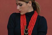 collares de lana