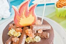 Camping party / Ideas & recipes for a kids camping party