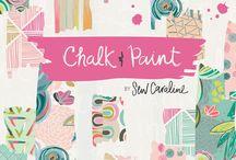 Chalk and Paint Fabrics / by caroline hulse