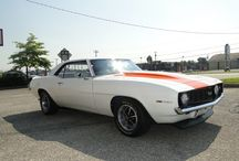 1969 Supercharged Chevy Camaro