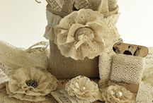 Hessian, Burlac and beautiful things / all things made from.....