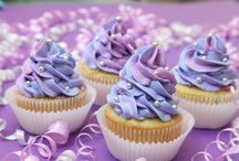 Purple cupcake contest