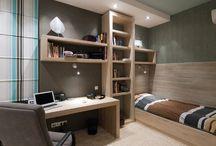 Fiú hálószobák