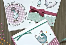 Stampin up Hey chick!
