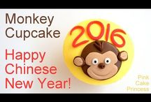 Tutorial Chinese New Year Cake and Cookies Decoration