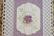 Other people's stitched cards