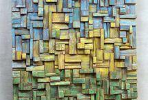 Quadros em madeira