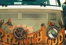 Surfing and old VW
