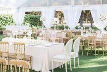 Ivory & Champagne | Wedding Decor Inspiration