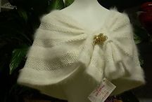 Knitted wedding items
