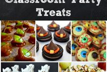 Halloween Crafts and Snacks!