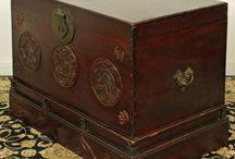 Mongolian-Tibetian ancient furniture