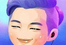 Rap Monster | BTS FanArt