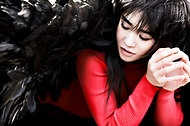 """Yuja Wang: """"Fast hands, swift rise"""" / Yuja Wang brings her flying fingers to the New York Philharmonic on April 12-17th, in concert with conductor Jaap van Zweden. She'll be performing Prokofiev's Concerto No. 3.  Also on the program: Mahler's Symphony No. 1."""