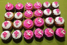 Mis trabajos! / Estos son los trabajos que he realizado para mis clientes con mucho cariño. Cupcakes y tortas decoradas que han alegrado esos momentos tan especiales. Gracias por la confianza!