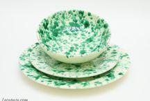 SERVIZI DI PIATTI / Servizi di piatti in ceramica artigianale di Grottaglie