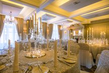 Wedding Reception Decor Suggestions / Our Northern Counties Ballroom offers an elegant, chic space for wedding celebrations of up to 90 guests including bridal table.