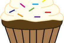 Cap Cake Clip Art