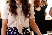 Zoe Deschanel - style