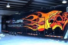 Trailer Wraps / Patrick's Signs does Trailer Wraps. Please call us at 702.873.4463 or 714.988.8411 if you need any assistance with Trailer Wraps. View our Gallery below for some sample work.
