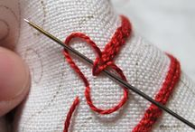 Embroidery stitches / Braided chain