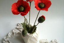 polymer clay flowers