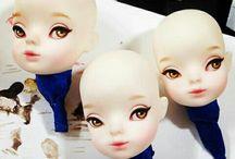 Doll's makeup