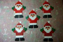 Hama beads Natale