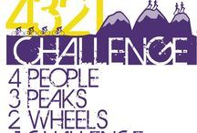 4-3-2-1 Challenge / World champion triathlete Chrissie Wellington MBE and a team of three other adventurous athletes undertake a fundraising three peaks challenge, but cycle between the mountains: running 28 miles off-road, cycling 420 miles
