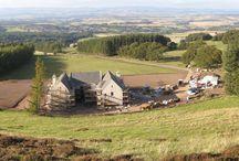 IJLA - Scottish Mansion / Landscape Architecture Landscape Design Garden Design