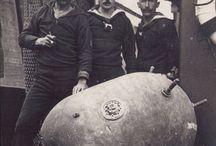German Sea Mines - First World War
