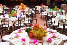 multicolored wedding