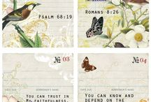 LOVE NOTES and SCRIPTURE