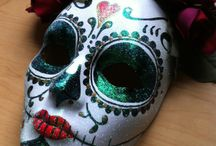 Day of the dead masks research
