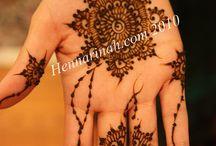 Henna/Mehndi designs