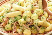 Aardappel met asperge