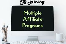 Affiliate Marketing / Tips and tricks on how to succeed with affiliate marketing. Ideal for online influencers and bloggers.
