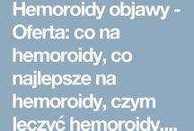 Hemoroidy objawy