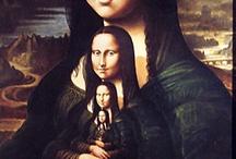 Mona & co / Le tableau le plus célèbre de Vinci (et sans doute de la peinture occidentale) a donné lieu à un nombre infini de parodies !