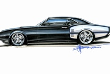 Car Sketches / Car sketches, designs and drawings
