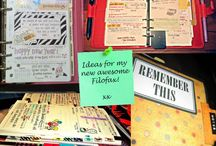 stationery & fonts / Papers, pen and their friends