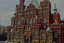 Moscow never sleep