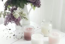candle / hand made candles