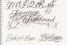 Letras tattoo