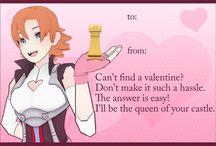 RWBY Valentine's Day cards