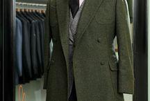 men's overcoat trench