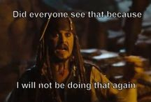 Captain Jack Sparrow / Pics, GIFs, and videos of the popular Captain Jack.