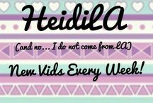 YouTube / All the photos and special moments from my YouTube Channel, HeidiLA